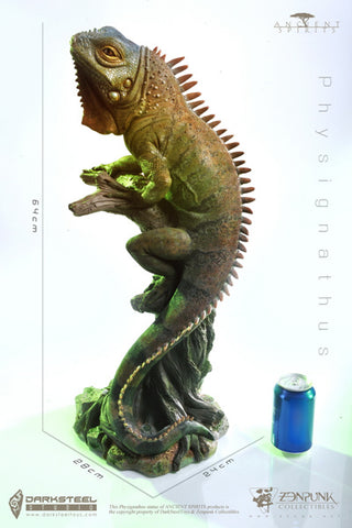 【預訂日期至09-Apr-20】DarkSteel Toys × Zen punk DSP-002 Ancient Spirits Series 1/2 Iguana  Statue