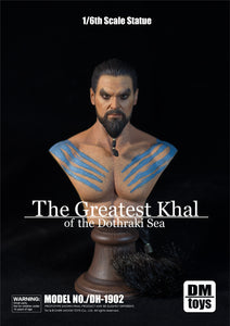 【已截訂】Dark Moon Toys Khal Drogo Male muscular bust 1/6