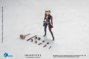 【已截訂】Hiya Toys Dc Comics INJUSTICE 2 Harley Quinn 1/18 Action Figure
