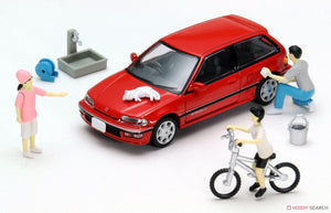 【已截訂】Tomytec Diorama Collection64 #CarSnap02a Car Wash 1/64