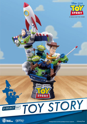 【現貨】Beast Kingdom Disney D-Select 007 Toy Story PVC Figure