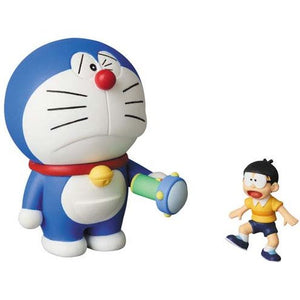 【已截訂】MEDICOM TOY Doraemon & Nobita Small Light PVC Figure