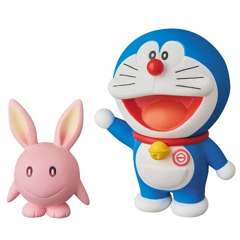 【已截訂】MEDICOM TOY Doraemon the Movie Nobita`s Chronicle of the Moon Exploration UDF Doraemon & Moobit Figure