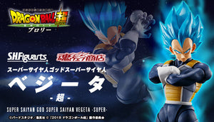 【已截訂】Bandai S.H.Figuarts Dragon Ball Super Saiyan God Super Saiyan Vegeta -Super-