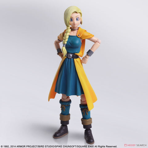 【已截訂】Square Enix Dragon Quest V Hand of the Heavenly Bride Bring Arts Bianca Whitaker Action Figure