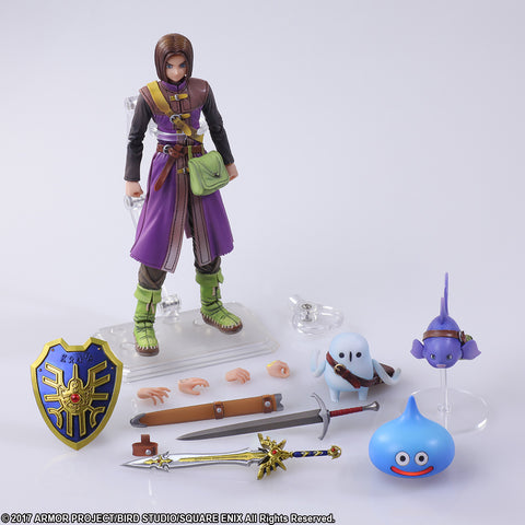 【售完】Square Enix Bring Arts Dragon Quest XI: Echoes of an Elusive Age Hero THE LUMINARY Action Figure