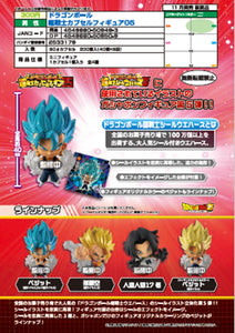 【已截訂】Bandai Dragonball Super Fighter Capsule Figure 05 (全4種)