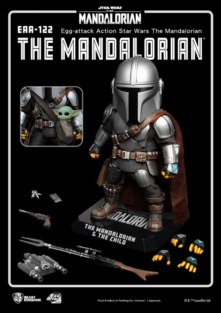 【已截訂】Beast Kingdom EAA-122 The Mandalorian Action Figure