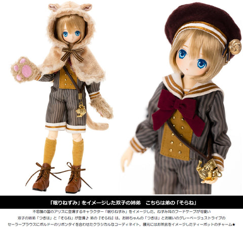 【已截訂】Azone EX Cute Family Alice's Tea Party -Okashina Ochakai- Dormouse  Sorane 1/6 Action Doll