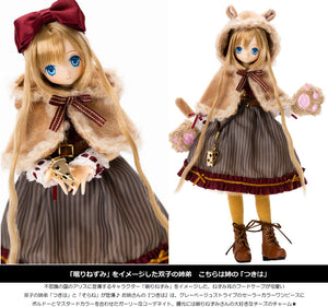 【已截訂】Azone EX Cute Family Alice's Tea Party -Okashina Ochakai- Dormouse  Tsukiha 1/6 Action Doll