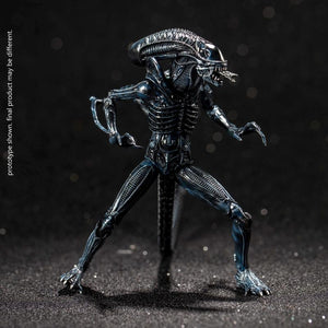 【預訂日期至26-Sep-20】Hiya Toys Exquisite Mini Series - 1/18 Scale ''Aliens'' - Alien Warrior (Blue) Action Figure