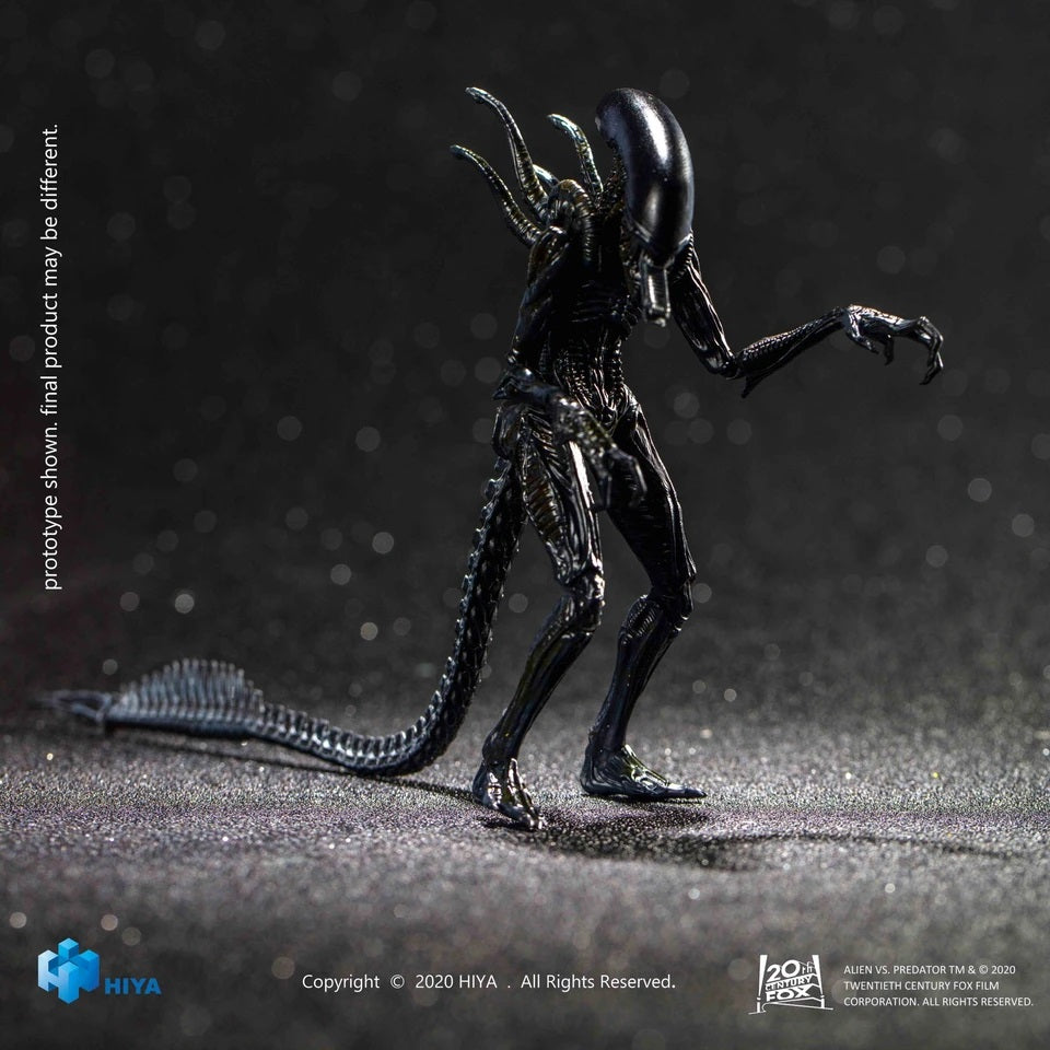 【預訂日期至25-Aug-20】Hiya Exquisite Mini Series - AVP 1-18 Scale Alien Warrior Action Figure