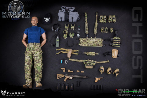 【預訂日期至20-Aug-20】FLAGSET FS-73033 END WAR 1/6 Action Figure