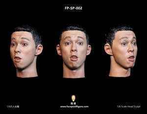 【已截訂】FacepoolFigure 1/6 Asian Male Head Sculpt withExpression FP-SP-002
