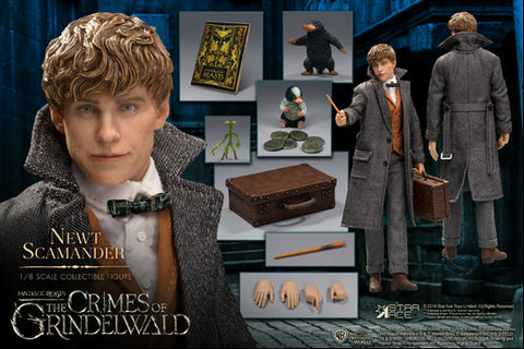 【已截訂】Star Ace Fantastic Beasts The Crimes of Grindelwald Newt Scamander 1/8 Action Figure