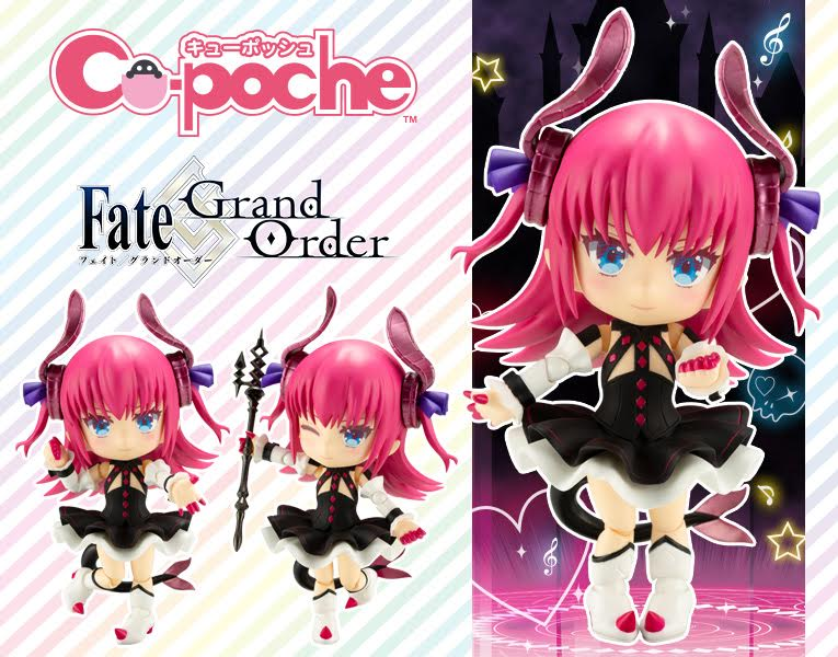 【已截訂】Kotobukiya Fate/Grand Order Cu-poche Lancer Elizabeth Bathory Action Figure