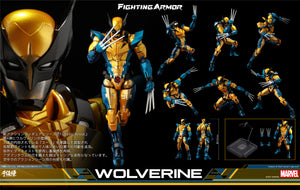 【預訂日期至27-Mar-21】千值練 Fighting Armor Wolverine Action Figure