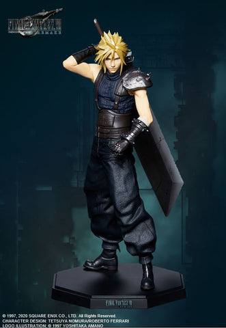 【預訂日期至12-Apr-20】Square Enix Final Fantasy VII REMAKE Statuette Cloud Strife PVC Figure
