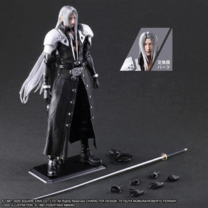 【預訂-數量有限,額滿即止】Square Enix Final Fantasy VII Remake Play Arts Kai -Sephiroth- Action Figure