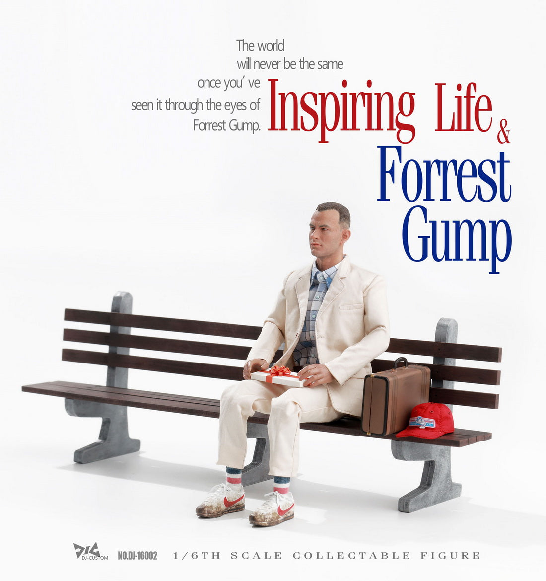 【已截訂】DJ-CUSTOM Forrest Gump 1/6 Collectible Figure