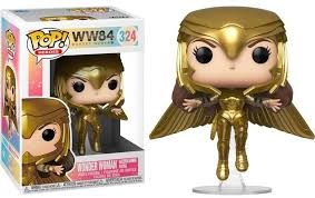 Wonder Woman 1984 - Gold Armour Flying Pose | Funko Pop! Vinyl | Funko【現貨】