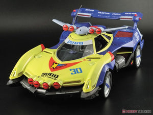 【已截訂】Aoshima Future GPX Cyber Formula Sugo Asurada G.S.X Rally Mode 1/24 Plastic Model Kit