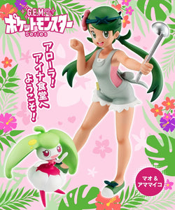 【已截訂】Mega House G.E.M. Series Pokemon Mao & Amamaiko PVC Figure