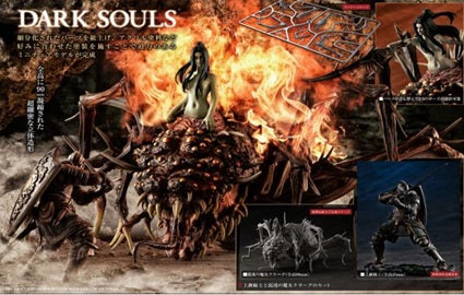 【已截訂】Megahouse GAME PIECE COLLECTION DARK SOULS Knight of Astra,Oscar & Chaos Witch Quelaag (模型)