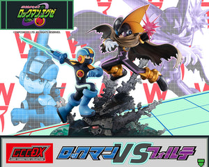 【已截訂】Megahouse GCCDX Mega Man Battle Network MegaMan vs. Bass Statue