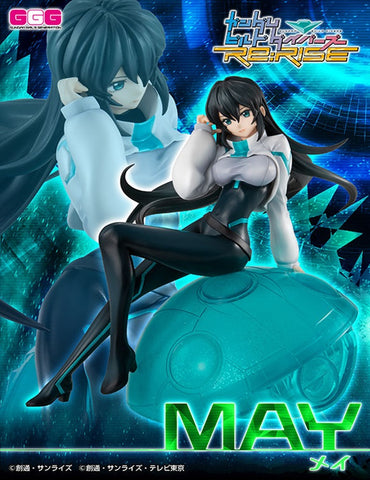 【已截訂】Mega House GGG (Gundam Girls Generation) Gundam Build Divers ReRISE – May PVC Figure