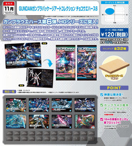 【已截訂】Bandai GUNDAM Gunpla Package Art Collection Choco Waffers 6 [BOX 20入]