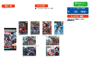 【已截訂】Bandai GUNDAM GUNPLA Package Art Collection choco waffers 4 [原盒20入]