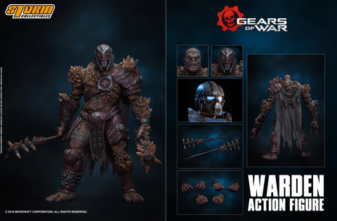 【已截訂】Storm Collectibles Gears of war WARDEN Action Figure