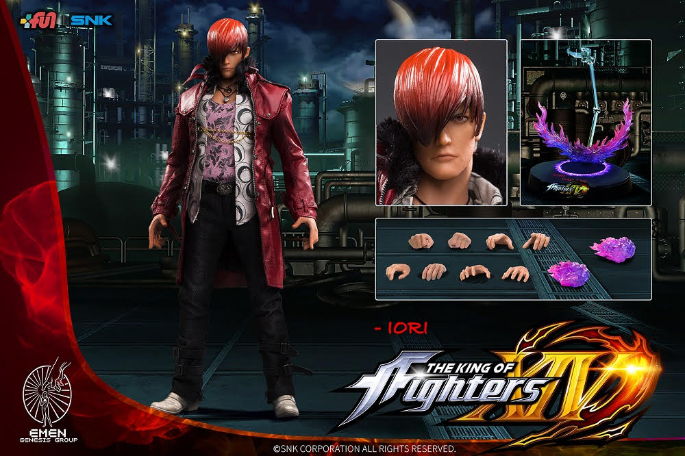 【已截訂】Genesis Emen KOF-IR01 The King of Fighters Iori Yagami Action Figure