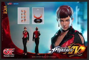 【預訂日期至18-Jan-21】Genesis Emen KOF-V01 The King of Fighters Vice Action Figure