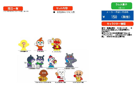 【預訂日期至29-Feb-20】Bandai Gether Anpanman P66 [BOX 14入]