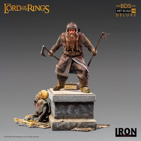 【已截訂】Iron Studios Gimli Deluxe BDS Art Scale - Lord of the Rings 1/10 Statue