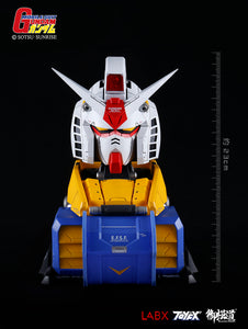 【已截訂】E-Model Gundam RX-78-2 135 Gundam Bust Statue Speaker Holder Stand 1/35 PVC Figure [不包喇叭]