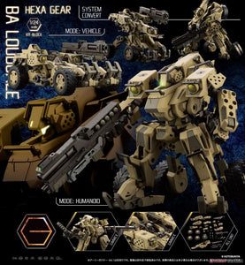 【預訂日期至28-Aug-20】Kotobukiya HEXA GEAR BA LOUDGALE 1/24 Kit Block  (模型)