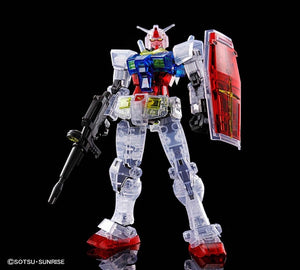 【已截訂】Bandai HG 1/144 RX-78-2 Gundam BEYOND GLOBAL [Clear Color](高達模型)