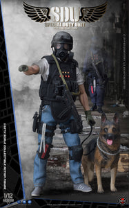 【已截訂】Soldier Story HK SDU Canine Handler 1/12 Collectible Action Figure