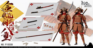 【預訂日期至04-Oct-20】IQOMODEL 1/6 Takeda Shingen side room Badong Additional Edition(增配版)