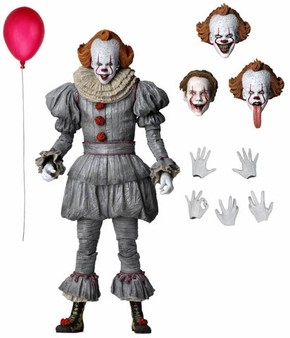 【已截訂】NECA IT Chapter 2 - 7'' Figure - Ultimate Pennywise Action Figure