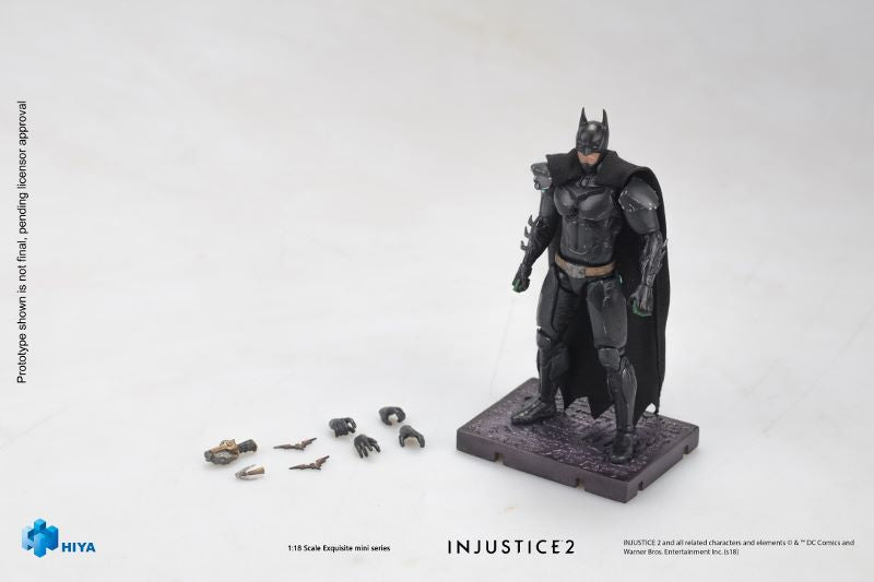 【已截訂】Hiya InJustice 2 Basic Batman 1/18 Scale Action Figure