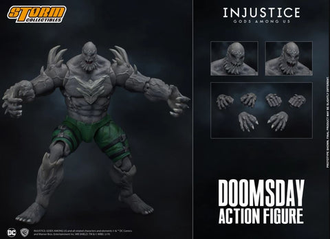 【已截訂】Storm Collectibles Injustice - Doomsday DCIJ004 Solicitation Action Figure [付全款包運費]