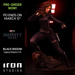 【已截訂】Iron Studios~ Black Widow Legacy Replica 1/4 - The Infinity Saga statue