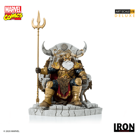【已截訂】Iron Studios~ Marvel Comics Series 6 Odin Deluxe Art Scale 1/10 Statue