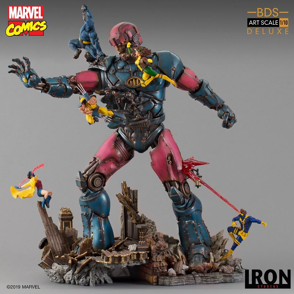 【已截訂】Iron Studios~X-Men Vs Sentinel #1 Deluxe BDS Art Scale 1/10 - Marvel Comics Figure