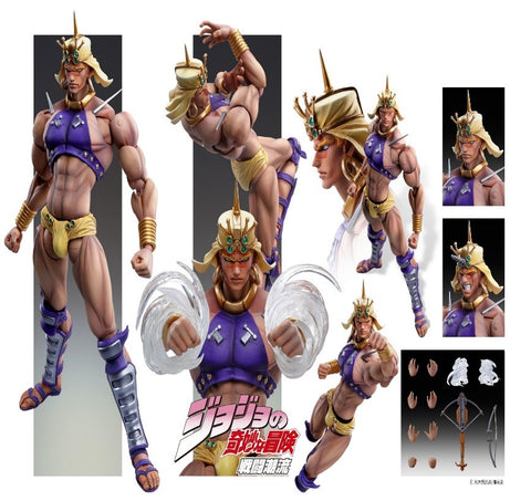 【已截訂】Medicos JoJo`s Super Figure Action Wamuu Action figure [再販]