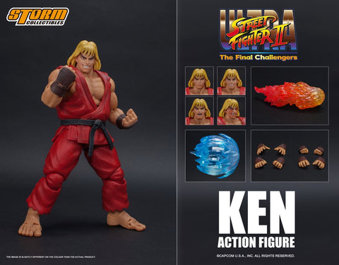 【已截訂】Storm Collectibles KEN - ULTRA STREET FIGHTER II ACTION FIGURE